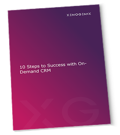 10 Steps to Success With On-Demand CRM
